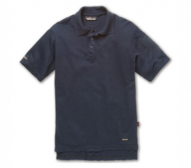 Workrite 6.7 oz. Tecasafe Short Sleeve Polo, Navy