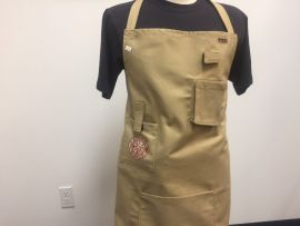 Fuego Fireman Apron in Faux Turnout Fabric