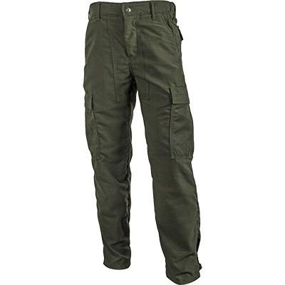 Crew Boss Tecasafe Plus 7 oz Classic Brush Pants (Green)