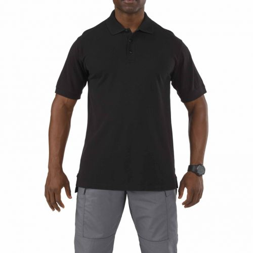 5.11 Tactical Professional Short Sleeve Polo I Fuego Fire Center - Navy