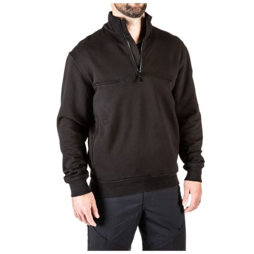 5.11 Tactical 1/4 Zip Job Shirt I Fuego Fire Center I Black