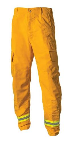 Crew Boss 6 oz Nomex IIIA Yellow Wildland Interface Brush Pant