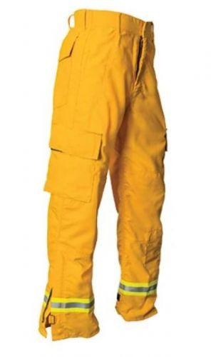 Crew Boss 7 oz Tecasafe Plus Yellow Wildland Interface Brush Pant