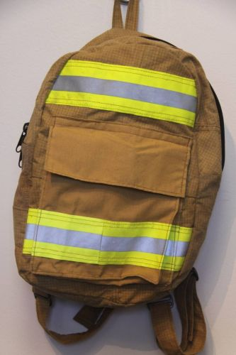 Small Fire Fighter Bunker Gear Backpack I Fire Tested I Fuego Fire Center