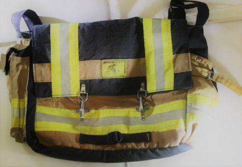 Upcycled Fire Tested Computer Bag I Fuego fire Center