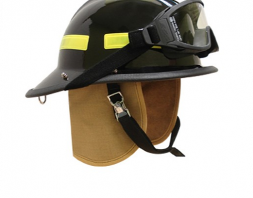 Cairns 660C Metro Composite Fire Fighter Helmet NFPA I Fuego Fire Center - Black