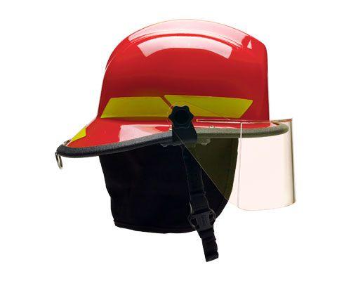 Bullard LT Series Fire Fighter Helmet I Fuego Fire Center - Profile View