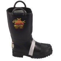 Thorogood Hellfire I Men's 14'' Felt Insulated Rubber Bunker Boot I Fuego Fire Center