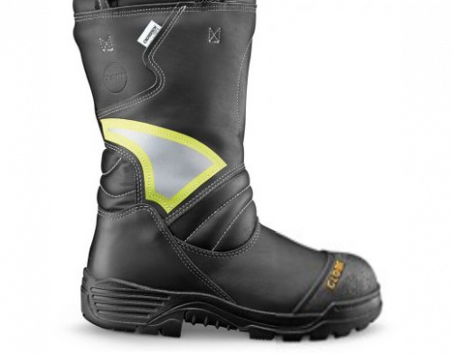 """Globe Men's Supreme 14"""" Structural Fire Boot Pull-On, NFPA"""