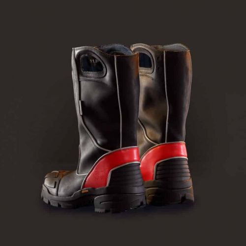 Fire-Dex Leather Pull-On Structural Fire Boot, NFPA 1971
