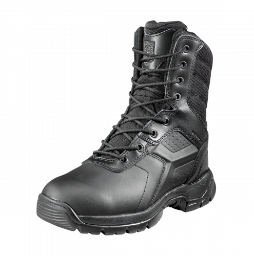 "Black Diamond 8"" Waterproof Tactical Boot I Side Zip Safety Toe I Fuego Fire Center - Boot"