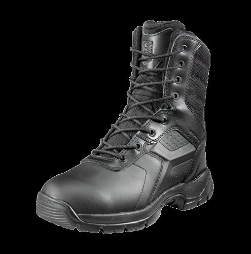 "Black Diamond 8"" Waterproof Tactical Boot- Side Zip Safety Toe"