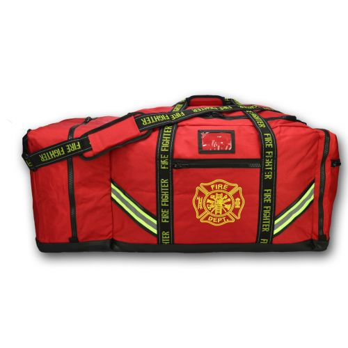Lightning X 3XL FireFighter Step-In Turnout Gear Bag I Fuego Fire Center - Red
