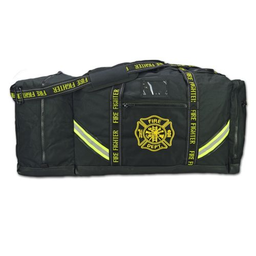 3XL Firefighter Step-In Turnout Gear Bag-Black
