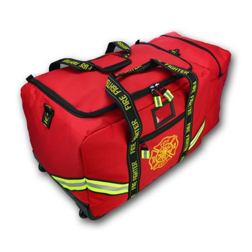Fire Fighter Gear I Turnout Rolling Duffel Bag I Fuego Fire Center