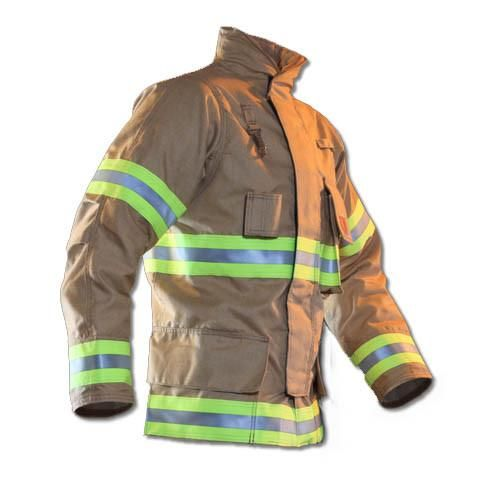 "Fire Dex Custom 32"" FXR Turnout Gear Coat with DRD Device"
