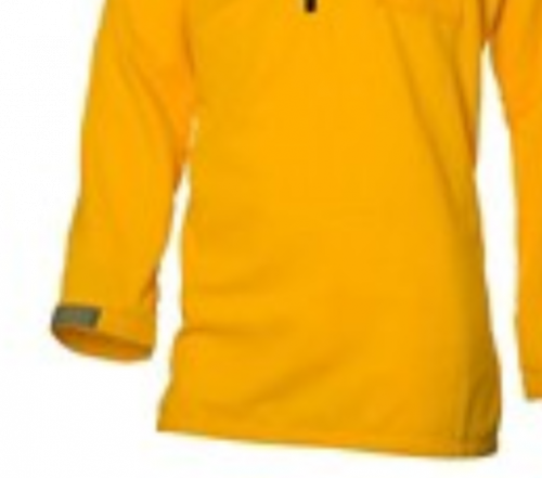 Coaxsher 5.8 oz Tecasafe Plus Yellow Stryker Wildland Fire Fighter Shirt I Fuego Fire Center