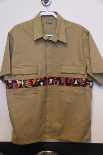 Fire Fighter Button-up Shirt I Fuego Fire Center - Simple