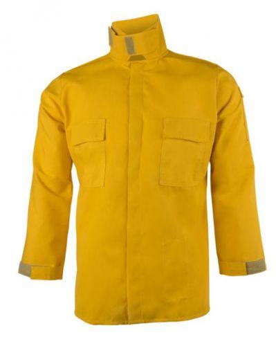 Crew Boss 6 oz Nomex IIIA Yellow Wildland Brush Shirt
