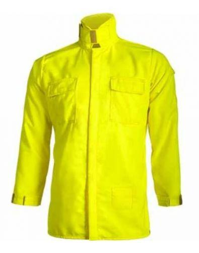 Crew Boss 7 oz Tescafe Plus High Viz Wildland Brush Shirt
