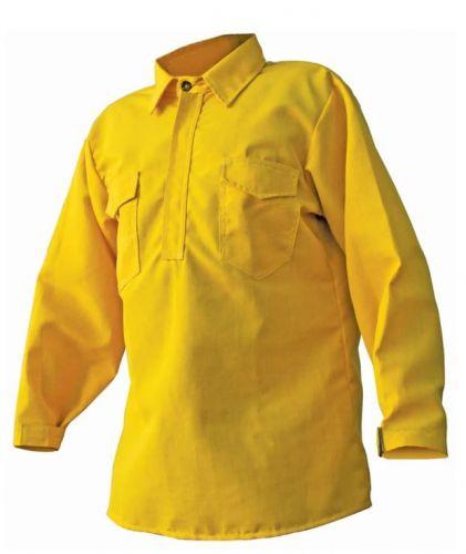 Crew Boss 5.8 oz Tescafe Plus Yellow Wildland Hickory Shirt